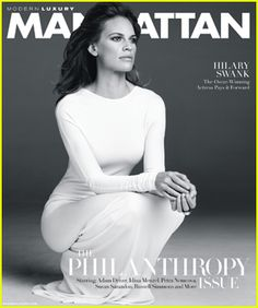 #Hilary Swank Embraces Her Strength & Feminity on 'Manhattan' November 2014 Cover --- More News at : http://RepinCeleb.com  #celebnews #repinceleb #CelebrityUpdates