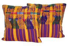 Huipil Pillows, Pair on OneKingsLane.com