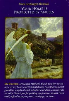 Archangel Michael Oracle Cards: Your Home Is Protected By Angels Angel Quotes, Angel Prayers, I Believe In Angels, Angel Pictures, Angels Among Us, Angel Cards, Archangel Michael, Catholic Art, Guardian Angels