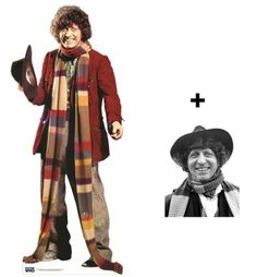 *FAN PACK* - The 4th Doctor Tom Baker Classic Doctor Who LIFESIZE CARDBOARD CUTOUT (STANDEE / STANDUP) - INCLUDES 8X10 (25X20CM) STAR PHOTO - FAN PACK #249 by Starstills UK Celebrity Fan Packs, http://www.amazon.com/dp/B008HJRK8G/ref=cm_sw_r_pi_dp_0TZ-rb1S1EKRR