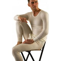 100% Pure Merino Wool Expedition-Weight Long Underwear Bottom for ...