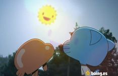 amazing world of gumball Vintage Cartoon, A Cartoon, Early 2000s Kids Shows, Pet Goldfish, Fanart, World Of Gumball, Cute Eyes, Old Cats, Darwin