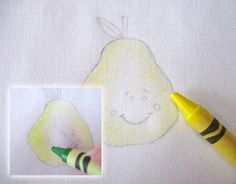 Crayon Tinting #Tutorial for #HandEmbroidery  Another great tutorial to easily spiffy up your embroidery