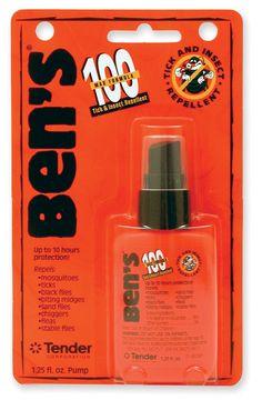 Ben's 100 Max Formula Insect Repellent - 95 Percent DEET - 1.25 fl. oz. - REI.com