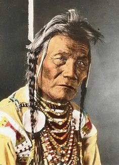 Bird Rattler (aka Sists-auana), Blackfoot Siksika Indian Montana. Photo by Charlotte Pinkerton Blazer, undated.
