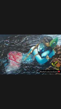 Krishna Gif, Krishna Avatar, Radha Krishna Songs, Krishna Flute, Radha Krishna Images, Cute Krishna, Radha Krishna Love, Best Love Lyrics, Cute Song Lyrics