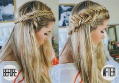 Pull Apart Dutch Braid Tutorial