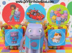 Home Birthday Party Idea- Tip, Boov Known as Oh, Pig The Cat