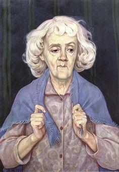 Дмитрий Жилинский. Портрет художницы Е. Л. Коровай. 1972