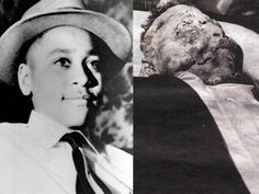 Emmett Till, 14     Murdered for flirting with a white woman. One of his eyes were gouged out, he was beaten and shot through the head before being disposed of in a river.      Money, Mississippi U.S.A 1955