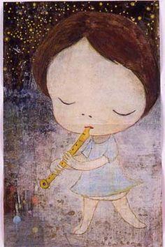 """Yoshimoto Nara - """"Life of Hinagiku"""""""