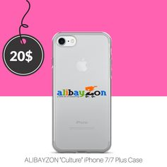 "ALIBAYZON ""Culture"" iPhone 7/7 Plus Case  $20.00 Right From our Collection, Get Down with our Culture, ALIBAYZON is more than a online store it is a Movement!!"