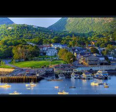 Bar Harbor, Maine-awesome vacation spot.