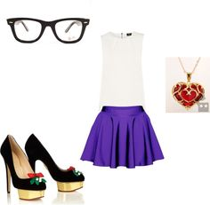 """purple love."" by begum-ozturk on Polyvore"