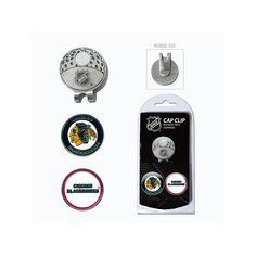 Team Golf Chicago Blackhawks Cap Clip & Magnetic Ball Markers, Multicolor