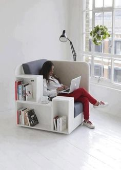 Chair With Storage Space by Inthralld