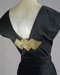 Ensemble, Evening House of Lanvin (French, founded 1889) Designer: Jeanne Lanvin (French, 1867–1946) Date: ca. 1934