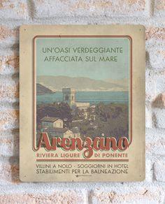 Arenzano | TARGA | Vimages - Immagini Originali in stile Vintage