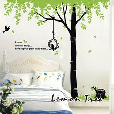Trees home decor wall decals