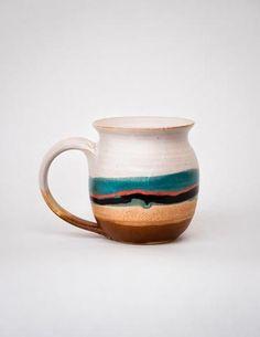 Ceramic Mug by Blue Eagle Pottery - Pistils Nursery Web Shop