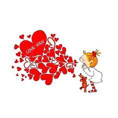 ココちゃん | 完全無料画像検索のプリ画像 Ah O Amor, Big Love, Original Image, Little Girls, Christmas Cards, Mandala, Illustration Art, Snoopy, Animation