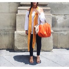 Here, you´ll find the bag you´ll reach for this season   The Burnt Orange Talega