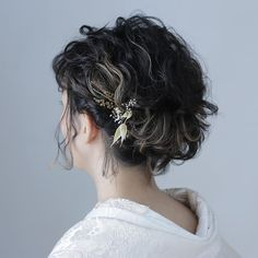 Up Styles, Hair Styles, Hair Arrange, Aqua, Kimono, Wedding Inspiration, Dreadlocks, How To Make, Beauty