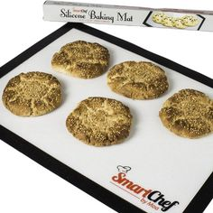 Silicone Baking Mat Non Stick For EASY Baking No More Scrubbing Cookie Pans Easy To Clean Eco Friendly Healthy Bake Like The Pros Short On Time? This Is Your Answer A MUST Have For Every Kitchen 100% Guaranteed Smart Chef by Moa,http://www.amazon.com/dp/B00GJSTUT4/ref=cm_sw_r_pi_dp_itjytb1QYE0F5W77