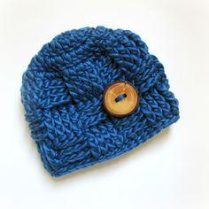 Baby Hat / Crochet Baby Hat / Alpaca
