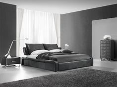 G179 Leather Bed. To see more of our designer furniture, visit our Melbourne showrooms today.
