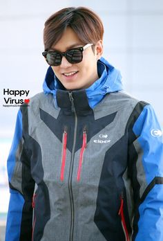 Lee Min Ho | Incheon airport 150202