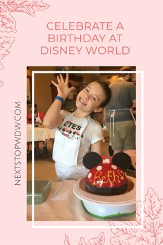 How to Celebrate a Birthday at Disney World – 10 Tips and Ideas to plan for a special day during your Disney Vacation. Disney World Guide, Disney World News, Disney World Tickets, Disney World Vacation Planning, Disney World Florida, Disney World Parks, Walt Disney World Vacations, Disney Planning, Disney World Tips And Tricks