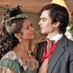 When Damon met Katherine.