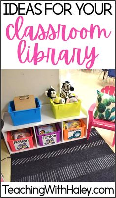 How to Setup a Classroom Library with FREE Library labels. I love creating a comfortable space for my students to re-read our favorites and find new books to love. In this blog post I go through the process I followed when I flipped a primary teacher's classroom library. Learn how to purge, organize, label, and store your favorite read-aloud and children's books for your kindergarten or first-grade classroom. Read more!