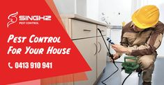 Singhz Pest Removal can tell you a heck of a lot about pests behaviour, their habits and the best way to remove them. We treat mice, rats, ants, ticks, bed bugs, fleas, silverfish and cockroaches as well as termites. Less normally species include birds and possums, spiders, bees, and wasps.