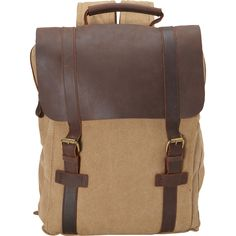 R & R Collections Canvas Laptop Backpack - eBags.com