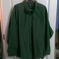 Men's Button Down Shirt with Pocket Men's Button Down Long Sleeves Shirt with Pocket EZ's by Haggar Shirts Casual Button Down Shirts
