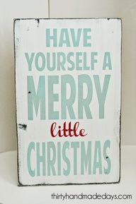 Image detail for -One of my favorite Christmas sayings from Barn Owl Primitives.