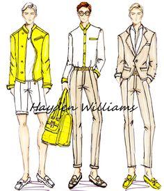 Hayden Williams SS13 Menswear collection