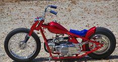 Kids Motorcycle, Bobber Motorcycle, Moto Bike, Custom Motorcycles, Custom Bikes, Cars And Motorcycles, Mini Chopper, Motorised Bike, Honda Cub