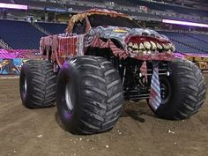 Monster Jam: The truck talent (Zombie Truck and more)