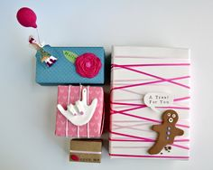 @Helen Bird - What beautiful boxes! Pretty Gifts with Martha Stewart Crafts by Curly Birds #CheckOutMyCraftMartha