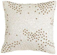 donna karan home reflection sequin pillow