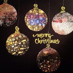 Merry Christmas from Salt & Light Calligraphy #calligraphy #seattle, #artist #saltlightcalligraphy #brush #christmas