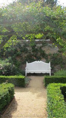 Mottisfont Abbey Romsey Hampshire Banc Jardin Jardin De Reve Jardins