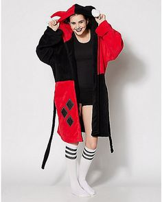 Gotham Girls, Cute Comfy Outfits, Comfy Clothes, Spencer, One Piece Pajamas, Signature Look, Joker And Harley Quinn, Girls Pajamas, Girl Costumes