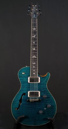 Paul Reed Smith P245 Semi-Hollow - 10-Top - Azul #3599 - Electrics - Products