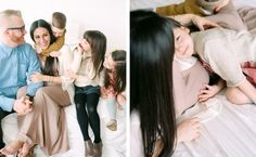 Love-filled family session