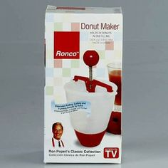 Ronco Donut Maker #2014 #donut #donutmaker #top10 #sweettop10