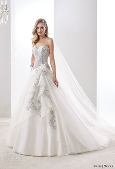 Nicole Jolies Collection 2016 — Colored Wedding Dresses | Wedding Inspirasi